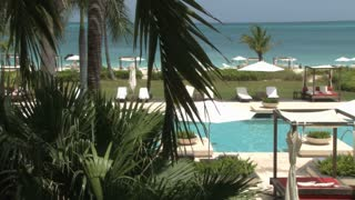 Turks and Caicos Island Hotel Resort Poolside 7