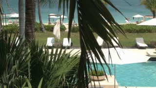 Turks and Caicos Island Hotel Resort Poolside 8