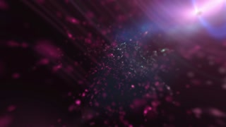 twinkling dust particles colored abstract deep purple  background