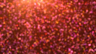 Twinkling Red and Pink Particles
