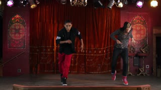 Two Hip-Hop Dancers in Slow Motion 2