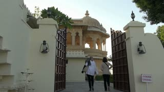 Udaipur Lake Island Gates 2