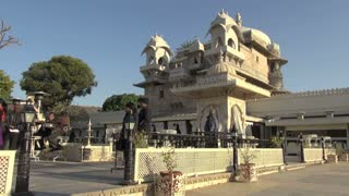 Udaipur Lake Island Structures 2