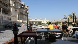 Udaipur Palace Cafe