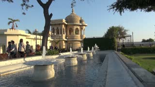 Udaipur Palace Fountains  2