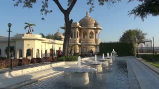 Udaipur Palace Fountains 4