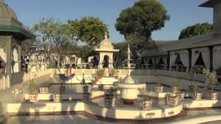 Udaipur Palace Fountains