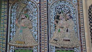 Udaipur Palace Mosaics 2