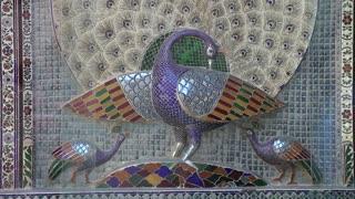 Udaipur Palace Mosaics 3