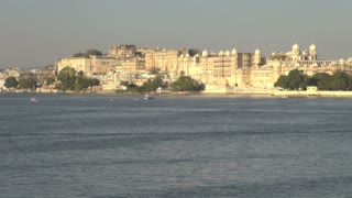 Udaipur Palace View From Lake Pichola 2