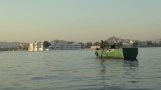Udaipur Palace view from Shore