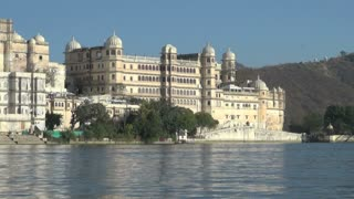 Udaipur Palce Viewed from Lake Pichola