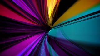 Ultra Modern Abstract Colorful Ribbon Loop Background
