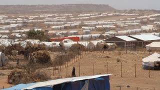 Un Refugee Camp In Ethiopia