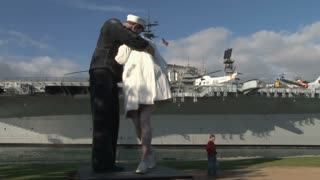 Unconditional Surrender Memorial Mole Park San Diego