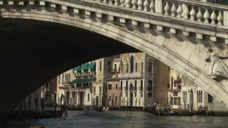 Under a Venetian Bridge