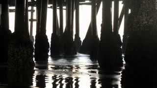 Under Santa Monica Pier