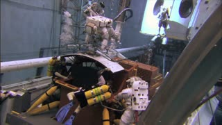 Underwater NASA Crew Training