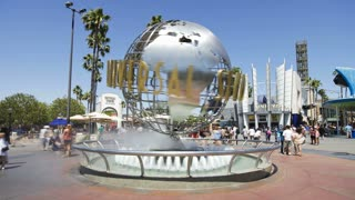 Universal Studios, Hollywood, Los Angeles, California, USA, North America, T/lapse
