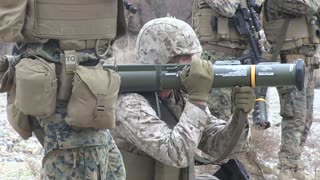 US Marines conduct Weapons Training Pohang, South Korea