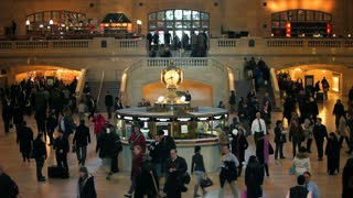 USA, New York City, Manhattan,  Grand Central Station, Central Station Hall