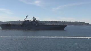 USS Essex (LHD-2) United States Navy Wasp-class amphibious assault ship
