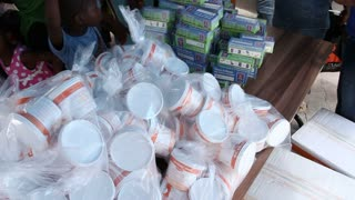 Vaccination Clinic Supplies In Haiti
