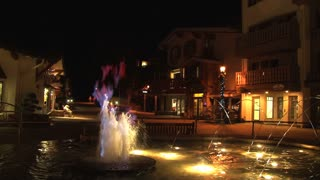 Vail Resort Flames In Water