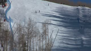 Vail Skiiers on Slope