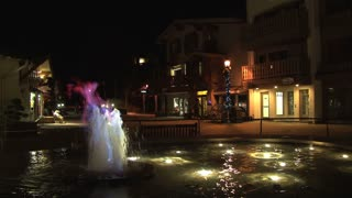 Vail Water Flame Fountain