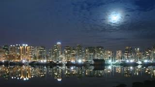 Vancouver Skyline Time Lapse