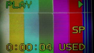 VCR Fuzzy Color Bars