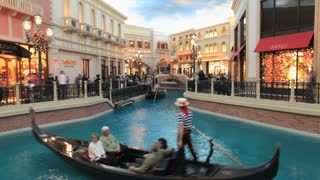 Vegas Casino Gondola Ride