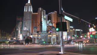 Vegas Hotel Intersection Timelapse