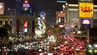 Vegas Roadway Traffic Timelapse
