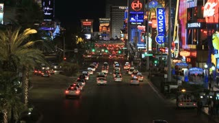 Vegas Strip Cars