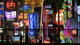 Vegas Strip Neon Time Lapse