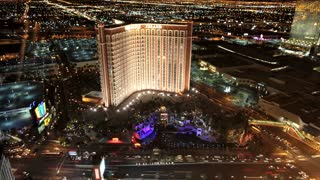 Vegas Strip Time Lapse View