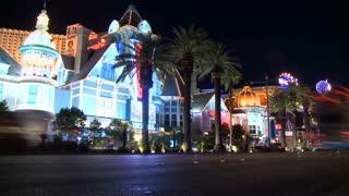 Vegas Timelapse Street Traffic