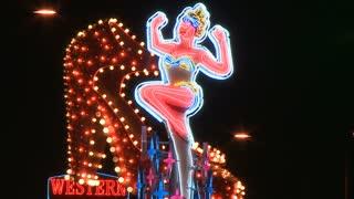 Vegas Western Neon Sign