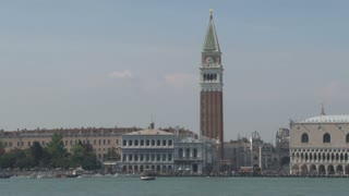 Venice and St. Mark's Cathedral Steeple