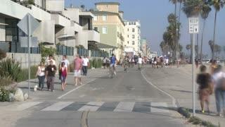 Venice Beach Walkway Timelapse