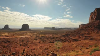Vibrant Monument Valley Landscape