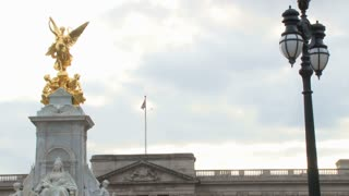 Victoria Memorial Statue By Buckingham Palace