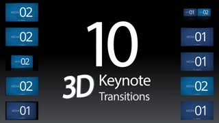 10 Keynote 3D Transitions