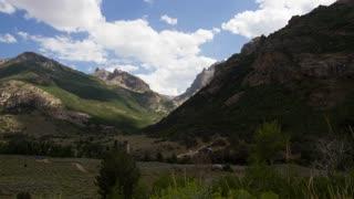 Lamoille Canyon, Nevada Timelapse