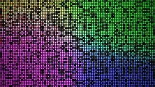 4 K Abstract Background Random Regtangle Lighting Blink 003