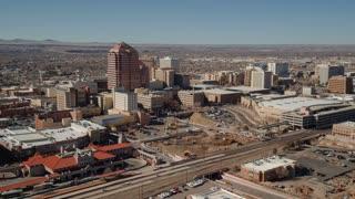 4K Aerial/Drone Albuquerque Downtown