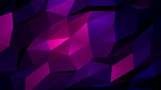 Abstract Amazing Pink Polygon Background
