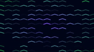 Abstract background animation with arrows